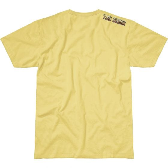 7.62 Design Don't Tread On Me T-Shirt Yellow