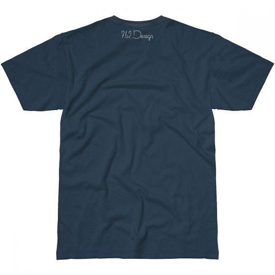 7.62 Design Aunt Samantha T-Shirt Indigo Blue