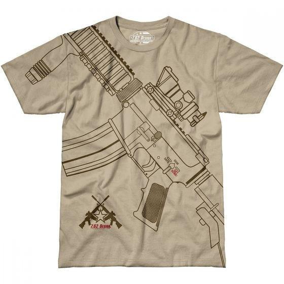 7.62 Design Get Some T-Shirt Sand