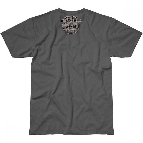 7.62 Design With Your Shield T-Shirt Charcoal