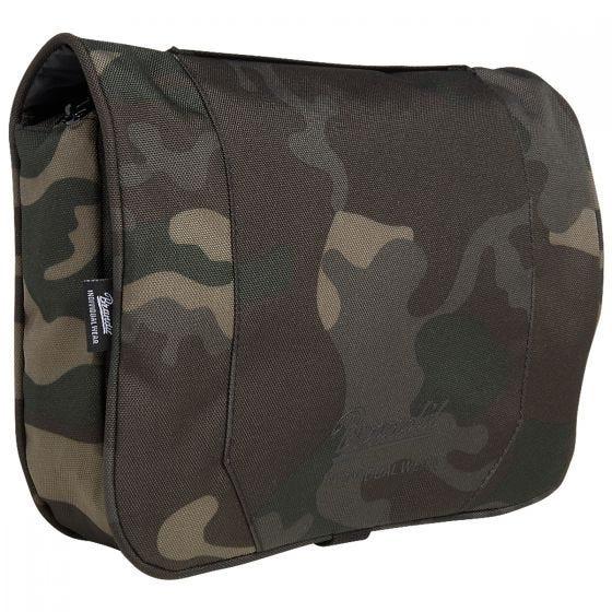 Brandit Toiletry Bag Large Dark Camo