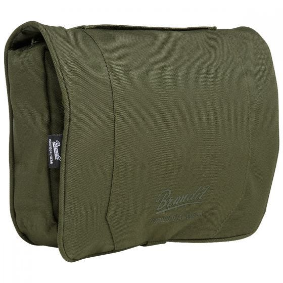 Brandit Toiletry Bag Large Olive