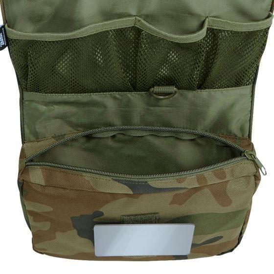 Brandit Toiletry Bag Large Woodland