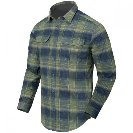 Helikon GreyMan Shirt Blast Blue Plaid