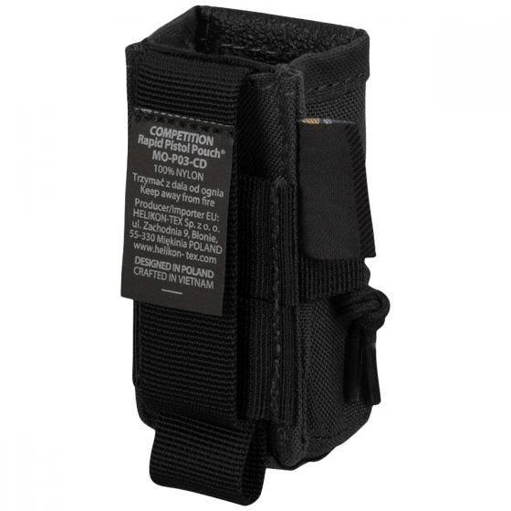 Helikon Competition Rapid Pistol Magazine Pouch Black