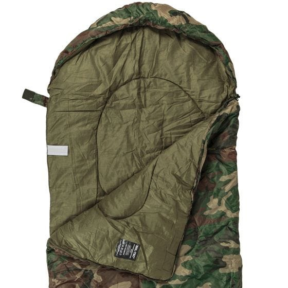 Mil-Tec Comforter Sleeping Bag Woodland