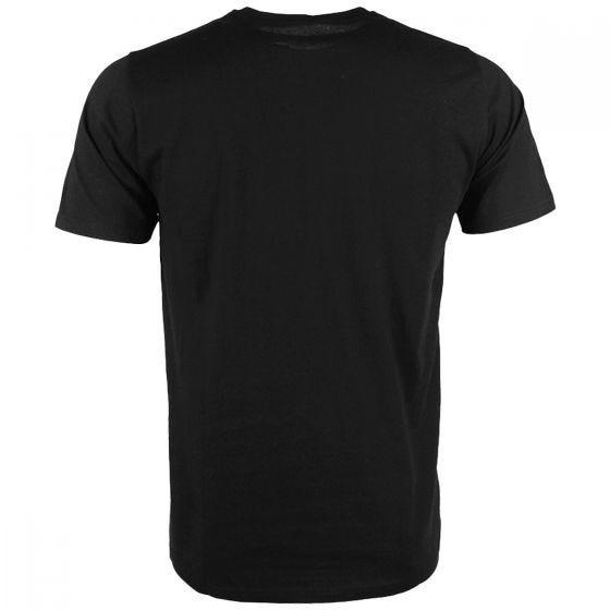 Mil-Tec T-Shirt Top Gun Black