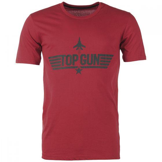 Mil-Tec T-Shirt Top Gun Red