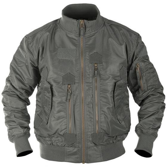Mil-Tec US Tactical Flight Jacket Urban Grey