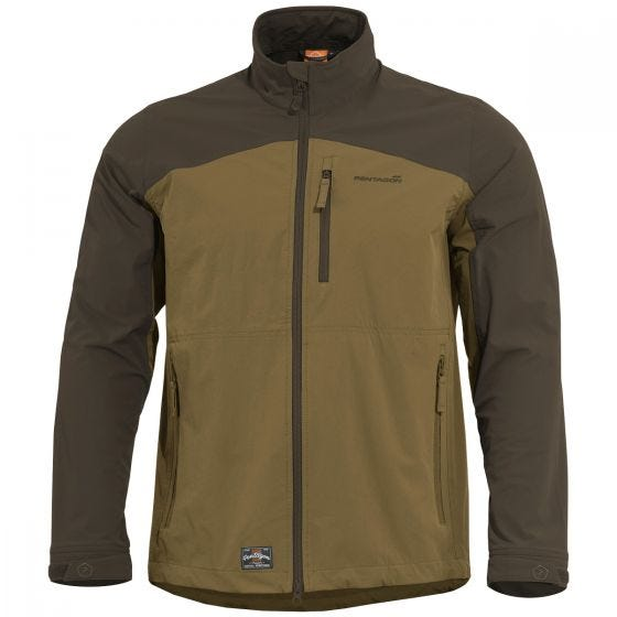 Pentagon Elite Light Softshell Jacket Coyote / Terra Brown