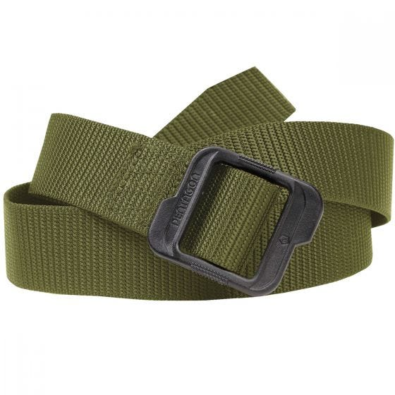 Pentagon Stealth Single Duty Belt Olive Green