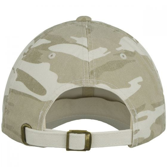 YP Low Profile Camo Washed Cap 6-Colour Desert