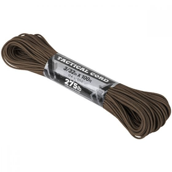 Atwood Rope 100ft 275 Tactical Cord Brown
