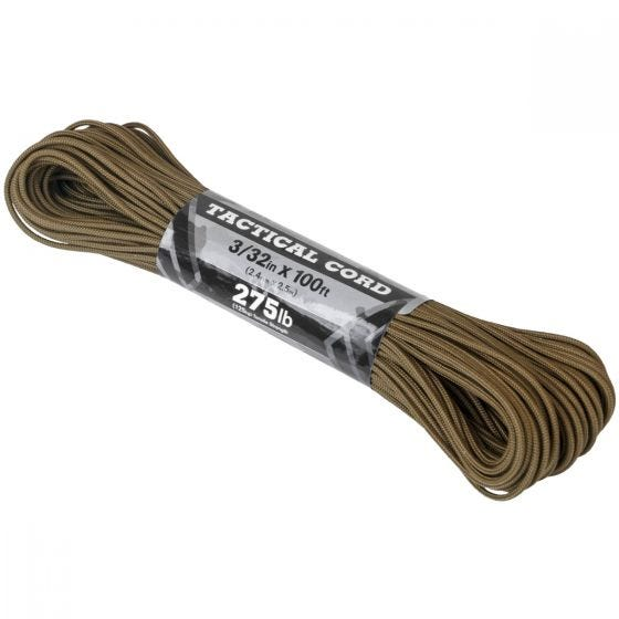 Atwood Rope 100ft 275 Tactical Cord Coyote