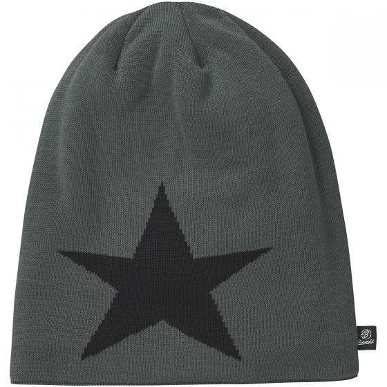 Brandit Beanie Star Cap Anthracite