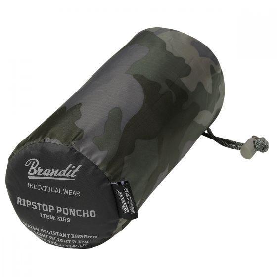 Brandit Ripstop Poncho Dark Camo