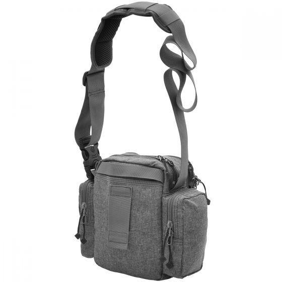Civilian Lab Grayman Tonto Concealed Carry Mini-Messenger Shoulder Bag Grey