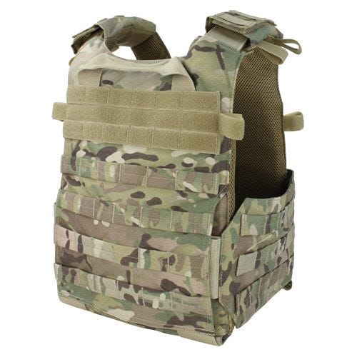 Condor Gunner Lightweight Plate Carrier MultiCam