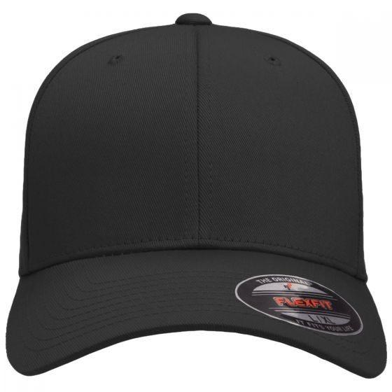 Flexfit Wooly Combed Cap Black/Black