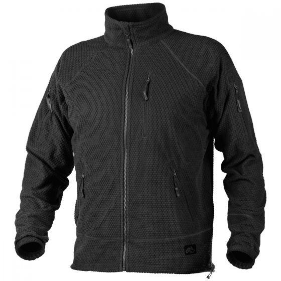Helikon Alpha Tactical Grid Fleece Jacket Black
