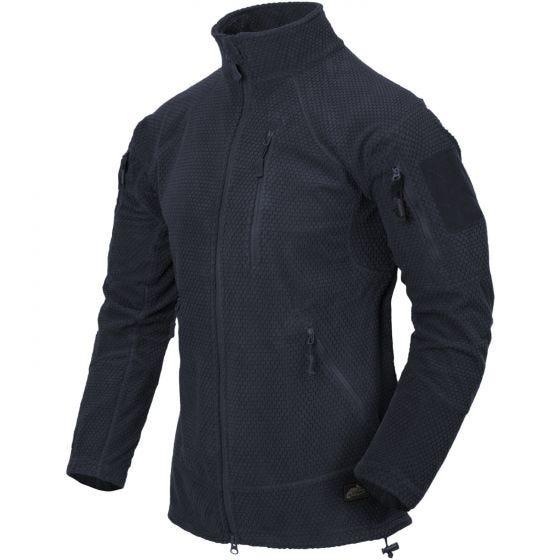 Helikon Alpha Tactical Jacket Grid Fleece Navy Blue