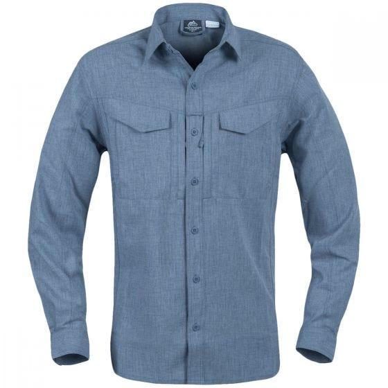 Helikon Defender Mk2 Gentleman Long Sleeve Shirt Melange Blue