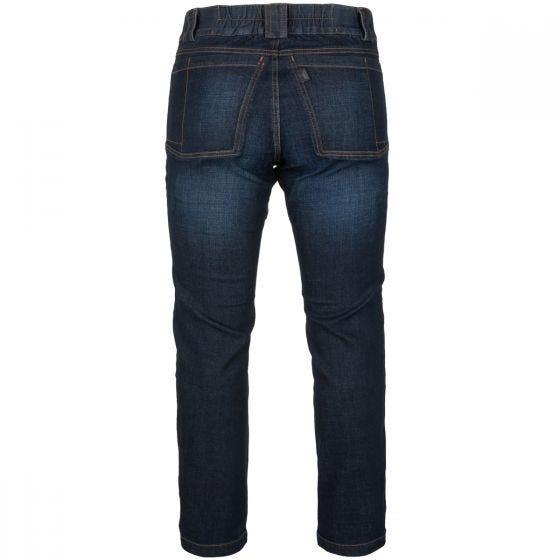 Helikon Greyman Tactical Jeans Slim Denim Mid Dark Blue