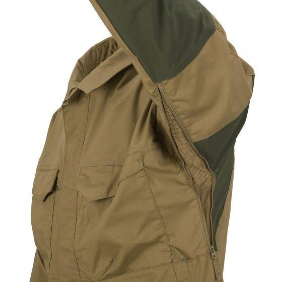 Helikon Woodsman Shirt Coyote / Taiga Green