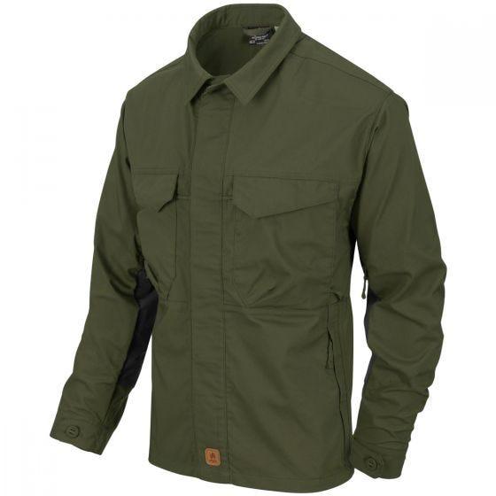 Helikon Woodsman Shirt Taiga Green / Black