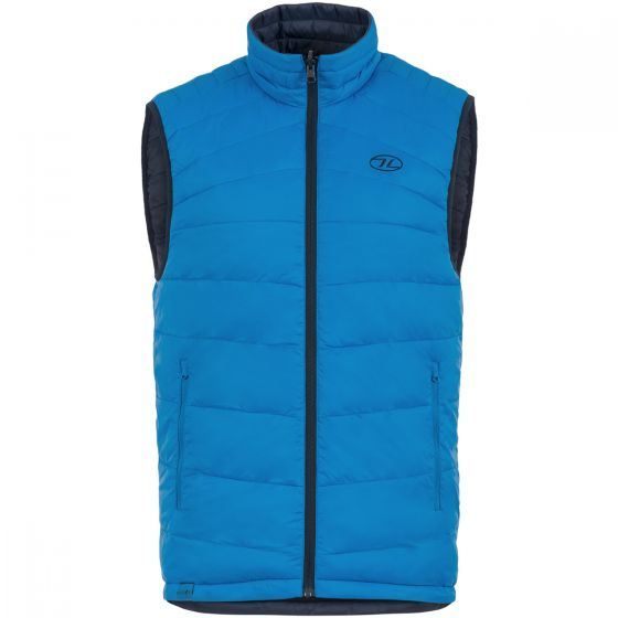 Highlander Reversible Gilet Navy / Lake Blue