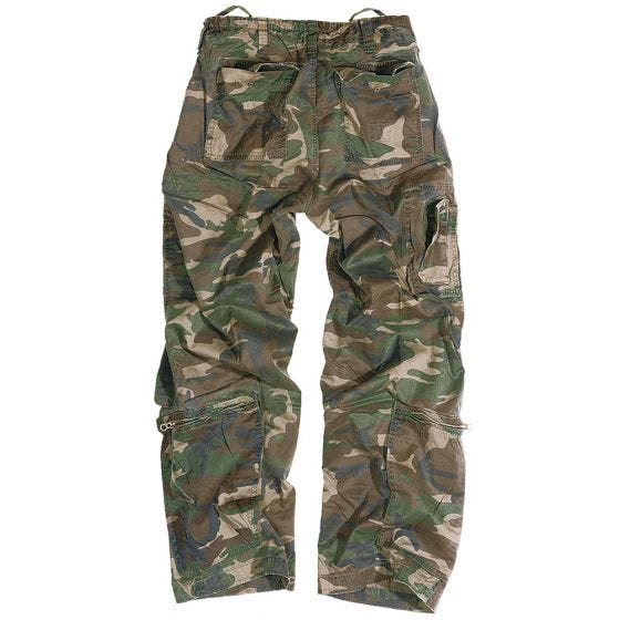 Surplus Infantry Cargo Trousers Woodland