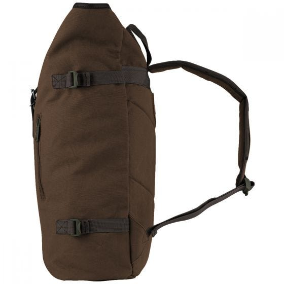 Jack Pyke Canvas Fold Top Rucksack Brown