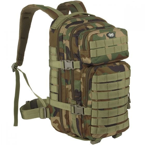 MFH Backpack Assault I Woodland