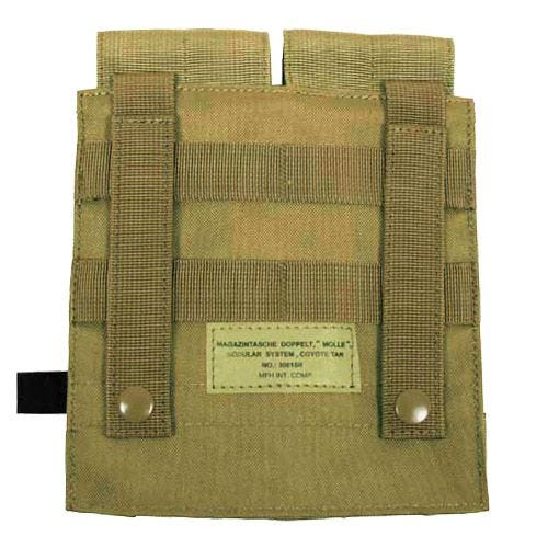 MFH Double M4/M16 Magazine Pouch MOLLE Coyote