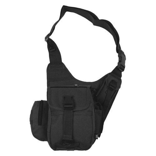 MFH Combat Shoulder Bag Black