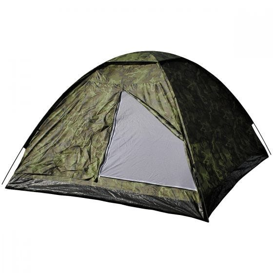 MFH 3 Person Tent Monodom with Mosquito Net Czech Woodland