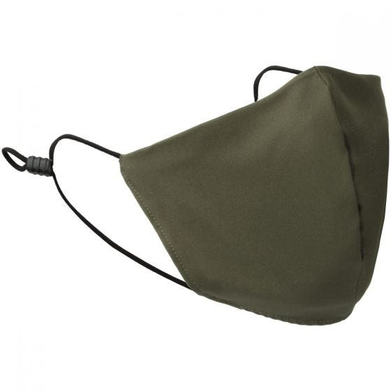 Mil-Tec Mouth/Nose Cover V-Shape Elastic Olive