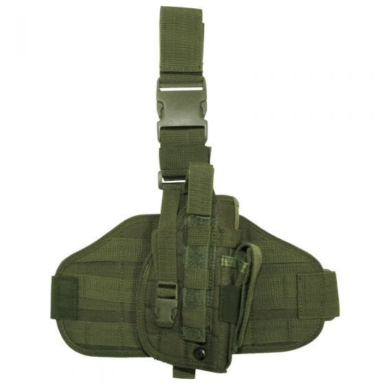 MFH Tactical Leg Holster MOLLE Olive