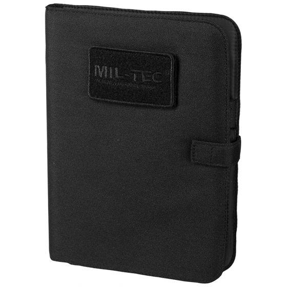 Mil-Tec Tactical Notebook Medium Black