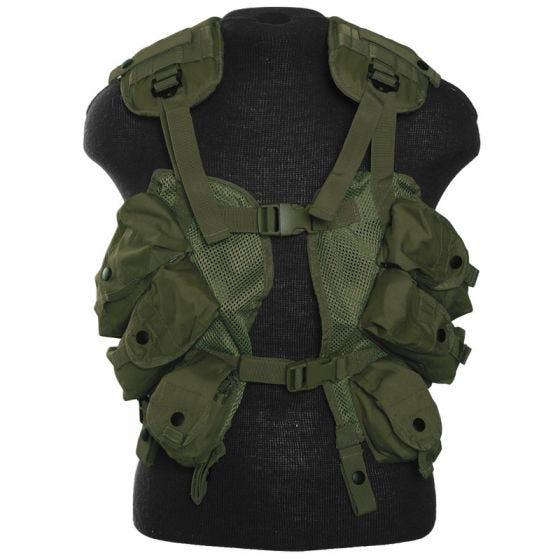 Mil-Tec US Load Bearing Vest Olive