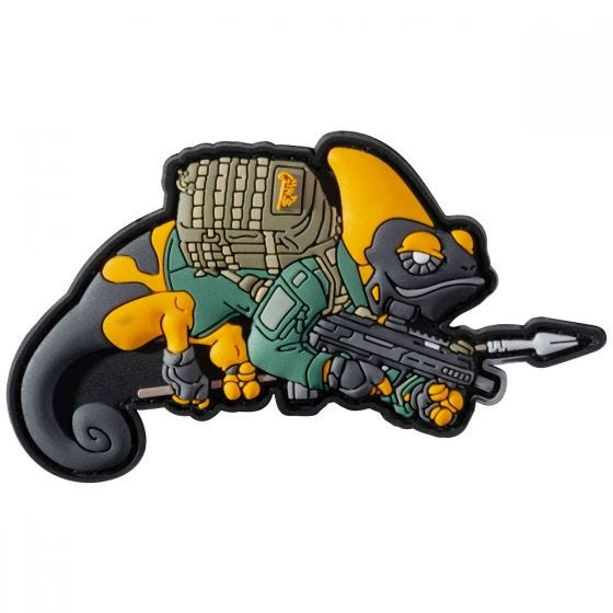 Patchlab Chameleon Patrol Line Patch Yellow / Green