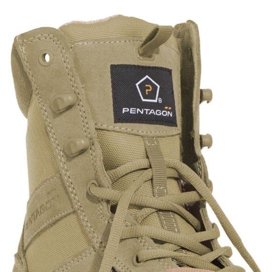 """Pentagon Odos Suede 8"""" Boots Coyote"""