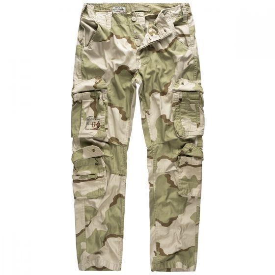 Surplus Airborne Slimmy Trousers 3-Colour Desert