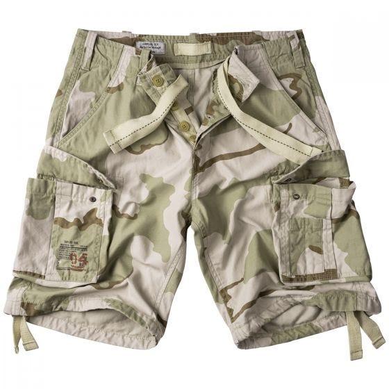 Surplus Airborne Vintage Shorts 3-Colour Desert