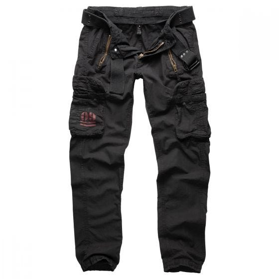 Surplus Royal Traveler Slimmy Trousers Royal Black