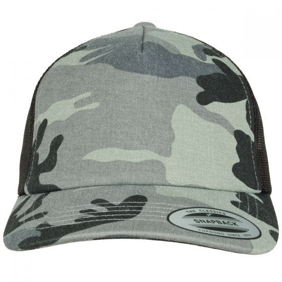 YP Camo Trucker Cap Dark Camo/Black