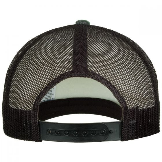 YP Camo Trucker Cap Woodland/Black