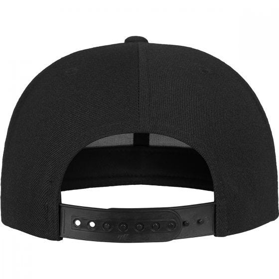 YP NASA Snapback Cap Black