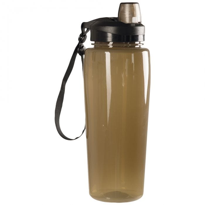 Mil-Tec Transparent Bottle Coyote