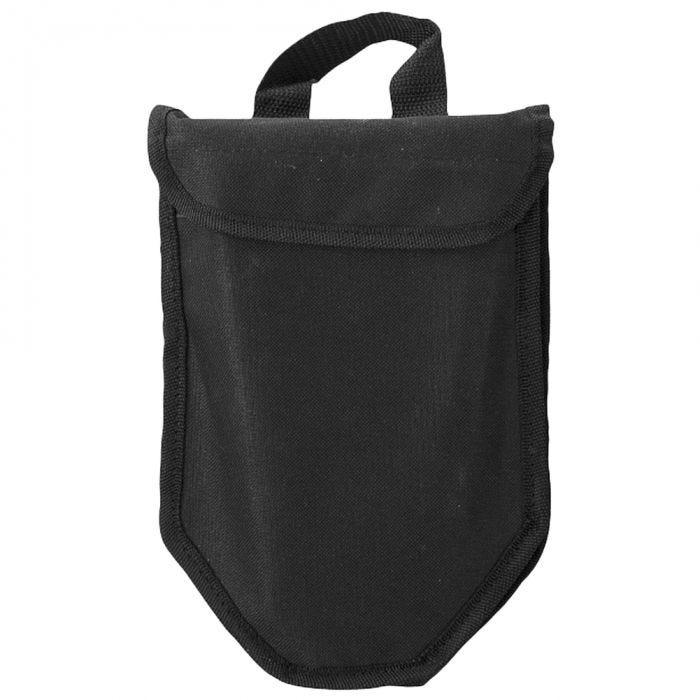Mil-Tec US 2mm Trifold Shovel with Cover Gen II Black